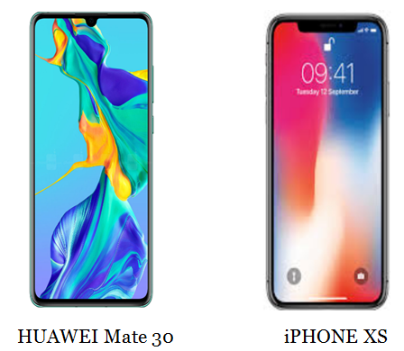 5 reasons why you should Buy Huawei mate 30 over Iphone XS