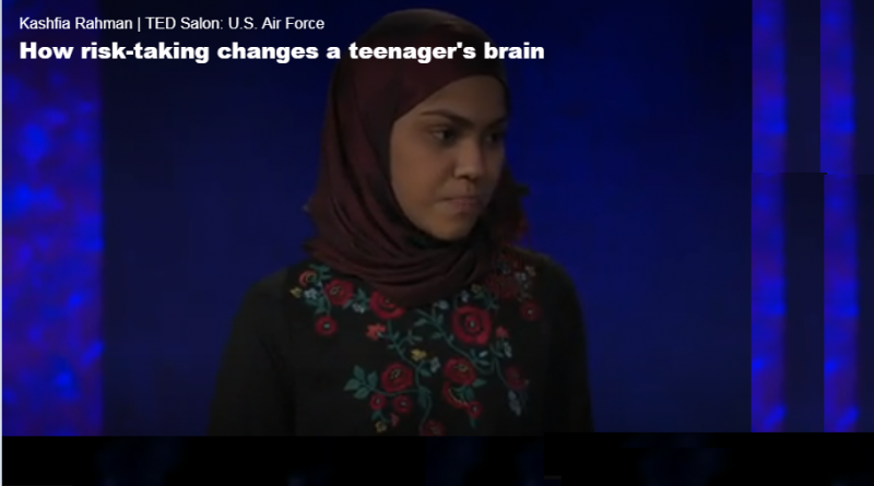 How risk taking changes-Teenage brains-Review