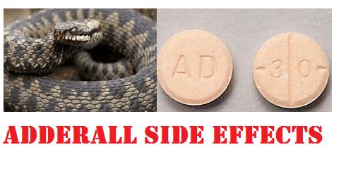 adderall sideeffects